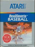 RealSports Baseball (Atari 5200)